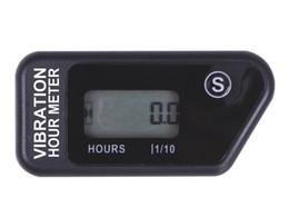 Wholesale Engine Meters - Wholesale-Waterproof Vibration wireless Hour Meter timer for jet ski snowmobile marine motorcycle boat dirt bike lawn mower atv any engine