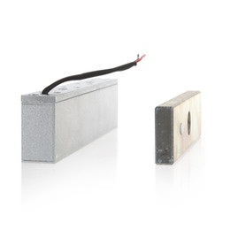 Wholesale Electromagnetic Magnetic Lock - Wholesale-Single Door 12V Electric Magnetic Electromagnetic Lock 180KG (350LB) Holding Force for Access Control