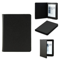 Wholesale Screen Protector Kobo - Wholesale-Smart Folio leather sleep cover case for Kobo Aura 6 inch (Not hd) ereader +screen protector+stylusfree shipping