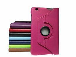 Стенды для продуктов онлайн-Wholesale-2015 New Product PU Leather Case Stand Skin Cover For LG G Pad Gpad 8.3 V500 8.3'' Tablet Protective Shell