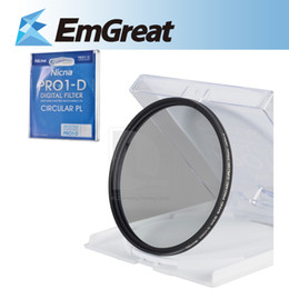Thin Lens Canada - Wholesale- New Ultra Thin Nicna PRO1-D CPL Filter Circular Polarizing Digital 77mm Filter Lens Portector for 77mm Lens 016170