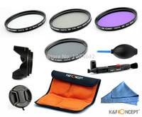 Wholesale Eos Rebel T4i - Wholesale-58MM UV CPL FLD ND4 Filter sets for CANON EOS Rebel T5i T4i T3i T3 T2i T1i XT XTi XSi SL1 DSLR Cameras