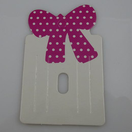 Wholesale Display Bows - Wholesale-Free shipping ( 200 pieces lot) HOT Charm Bowknot Bow Hair Clip Hair Claws Hairgrips Hanging Card Display