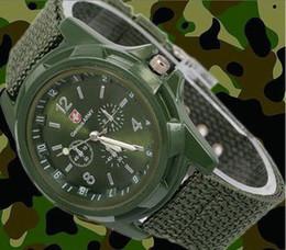 Atacado-10pcs / lot homem quartzo relógio de pulso Gemius ARMY esporte ao ar livre relógios suíços frete grátis de