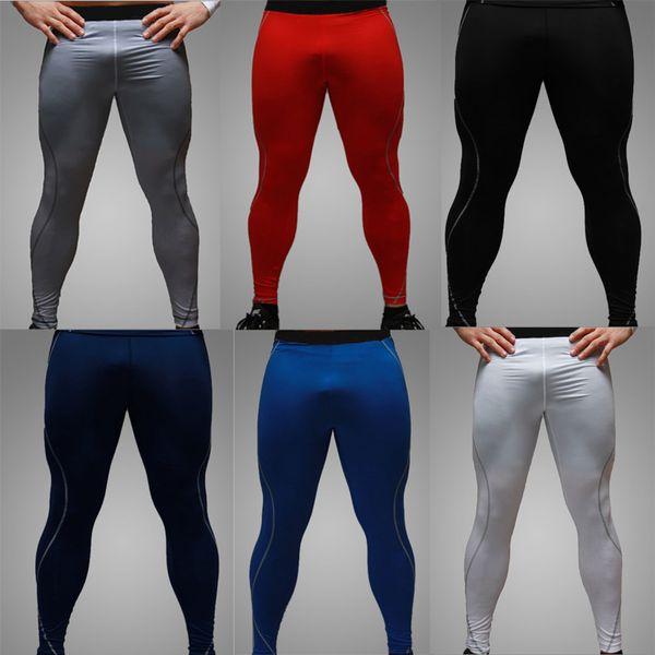 Pantalones de ciclismo para hombre al por mayor-más nuevos de alta calidad / Medias de compresión / Capa base / pieles Running / Fitness ejercicio Ropa / Pantalones