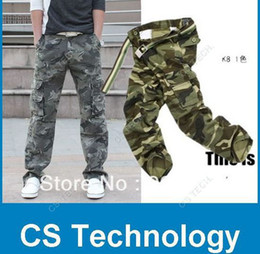 Wholesale Work Camo Cargo Pant - Wholesale HOT CASUAL MILITARY ARMY CARGO CAMO COMBAT WORK PANTS TROUSERS