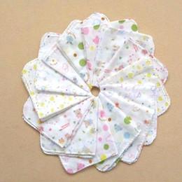Wholesale Nursing Handkerchiefs - Wholesale-P80 10pcs Baby Feeding Towel Infants Cotton Handkerchief Gauze Nursing Towel Clean