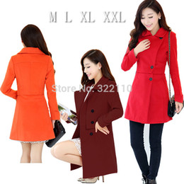 Wholesale Nylon Outerwear - Wholesale-2015 Winter Autumn Women coats Long style Ladies Jackets Leisure Outerwear for Women Fleece High quality Overcoat