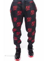 pantalones de chándal holgados negros de hip hop al por mayor-Al por mayor-Mens Joggers 100 Emoji Joggers pantalones de chándal Star Black 3D Skinny Hip Hop Pantalones deportivos Calca Mens Outdoors Baggy Jogging Pants