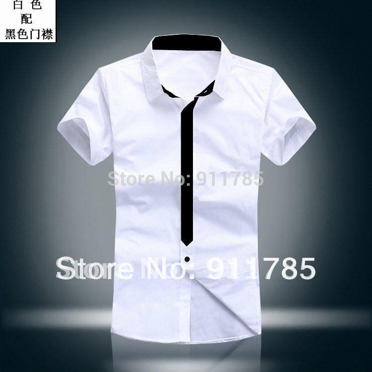 2017 Wholesale 2015 New Hot Sale Korean Style Mens Short Sleeved ...