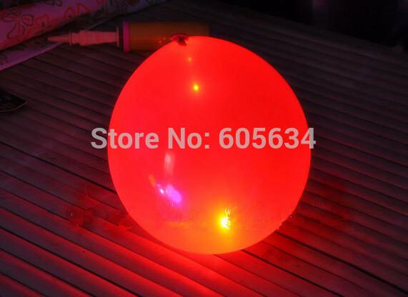 Wholesale-50 pcs Surprising 12inch Led Light Latex Balloons Light Up LED Balloon Christmas Party Festival Holiday Club Wedding Supplies