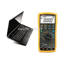Wholesale Digital Multimeter Large Lcd - Wholesale-VICTOR 79 Process Multimeter Digital Multimeter Handheld Autoranging Large LCD Electronic Instrument