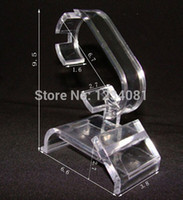 Wholesale Display Watch Holder Acrylic - Wholesale-70015 4PCS   lot Hot New clear acrylic watch bracelet display holder rack stand retail shop showcase