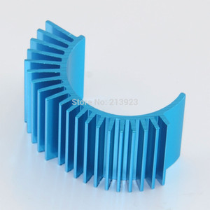 Wholesale CNC Aluminum Motor Heat Sink heatsink for Tamiya HSP Car Truck Blue
