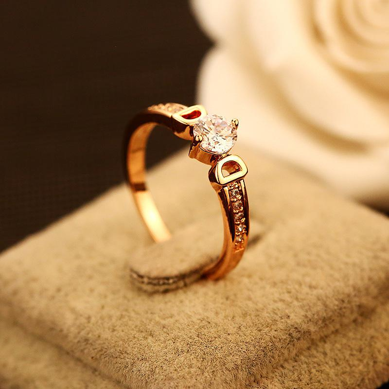 Letter Double Dd Gold Wedding Rings For Women Luxury Fashion Jewelry