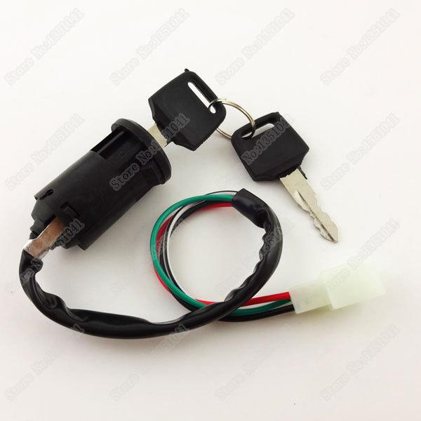 Pleasing Wholesale Motorcycle 4 Wire Key Ignition Lock Switch Male Plug For Wiring Cloud Xeiraioscosaoduqqnet