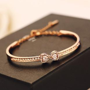 plated fashion jewellery chain bracelets hollow round product women new for charm bracelet jewelry gold bangles