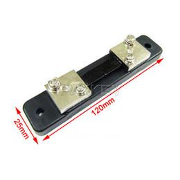 """Wholesale Digital Dual Meter - Wholesale-YB27VA DC 2in1 12V 24V Volt Amp Dual Display Meter 0.28"""" 0-100V 50A Red LED Voltmeter Amperemeter With Resistive Shunt"""