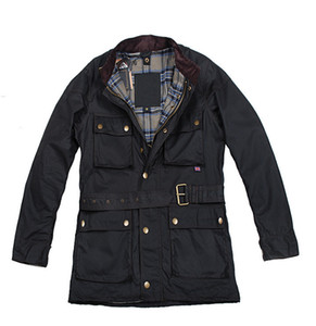 Wholesale-Classic Casual Style Fashion Slim Fit Mens Waxed Jacket