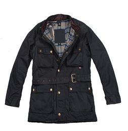 2019 gewachste jacken Wholesale-Classic Casual Style Fashion Slim Fit Herren gewachste Jacke günstig gewachste jacken