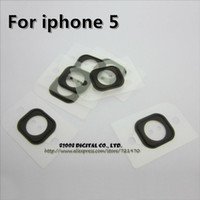 Wholesale-100pcs / lot 100% originale Button Pagina Guarnizione Supporto in gomma per iPhone 5 5G trasporto libero