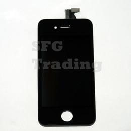 2019 lcd pour iphone 4s Vente en gros-5 / Lot Nouvelle qualité A1 pour écran de remplacement pour iPhone 4S Écran LCD en verre Retina Digitizer endommagé à l'écran en verre tactile promotion lcd pour iphone 4s