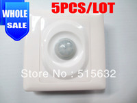 Wholesale Sensor Move - Wholesale-wholesale PIR Light Switch Sensor Body Moving Detector Motion Sensing Lighting Switching