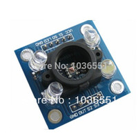 Wholesale arduino analog - Wholesale-GY-31 Color inductive Sensor TCS3200 color identification module sensor for Arduino