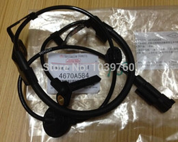 Wholesale Mitsubishi Outlander Abs - Wholesale-Free shipping New Rear Right ABS Wheel Speed Sensor for Mitsubishi Outlander 4WD Lancer 4WD ASX 4WD 07-12 4670A584