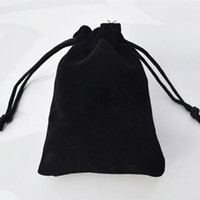 Wholesale Large Jewelry Bags Wholesale - Wholesale-30cmx20cm Large Black Velvet Gift Bag Hair Jewelry Packaging Case Bottle Holder Fashion Pouches