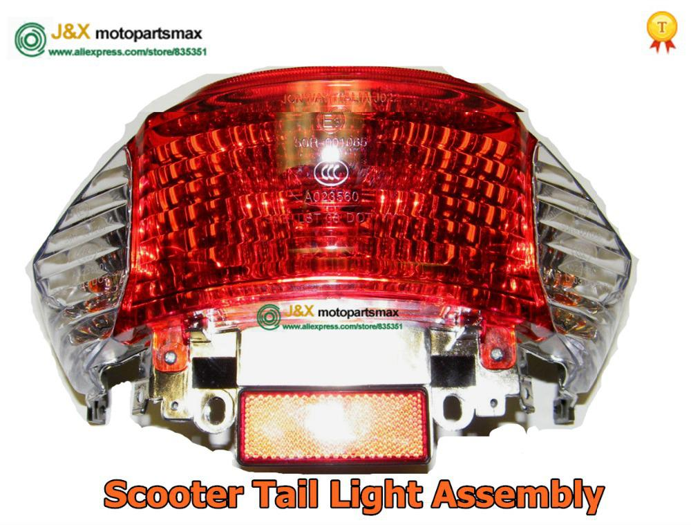 Wholesale-Scooter Tail Light Assembly Chinese Scooter Parts