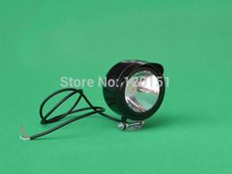 Wholesale E Bike Led Light - Wholesale-Motorcycle E-Bike Car 1Motorcycle E-Bike Car 12V 24V 36V 48V 80V High Power LED Spot Light Headlight 3W
