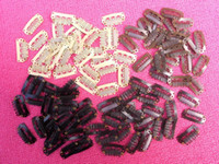Wholesale 28mm Ships - Wholesale-free shipping 40 Toupee Clips - 28mm Bulk Wig Clips - in 4 colors