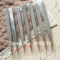 Wholesale Jewellery Making Tools Wholesale - Wholesale-3PCS 13.5CM DIY Jewelry Hand Stainless Steel Tweezers Pick-up Tool Jewellery Making Tools