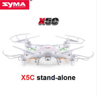 Wholesale Stand 4ch - Wholesale-Single SYMA X5 X5C X5C-1 RC Drone Stand-Alone 2.4G 4CH 6-Axis RC Quadcopter Without Camera 100% Original