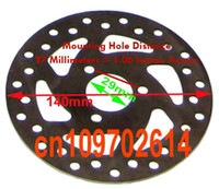 All'ingrosso-Nuovo Mini Pocket Bike Parts Disco Freno Pad 49cc 47cc per il motorino Dirt gas, motorino elettrico, pocket bike, Dia. = 140 millimetri