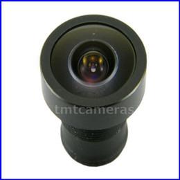 "Wholesale Cctv Color Board - Wholesale-1 3"" F2.0 2.1mm Wide Angle 120 Degree MTV Board Lens For CCTV Home Security Surveillance Color Camera"