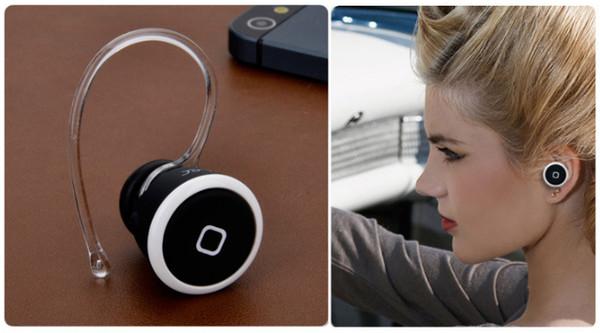 Atacado-original Mini sem fio Bluetooth fone de ouvido fone de ouvido fone de ouvido para iPhone 6 5S 4 Galaxy S5 S4 Lenovo telefone com pacote de varejo