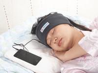 kopfhörer mp3 mp4 kopfhörerqualität großhandel-Wholesale-Free Verschiffen Qualität Uneed Marke 3,5 mm Classic Sleeping Kopfhörer für MP3 MP4 Player Handy Noise-Cancelling Kopfhörer