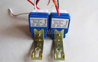 Wholesale Photocell Switches - Wholesale-AC DC 12V 10A Auto On Off Photocell Road Street Light Photoswitch Sensor Switch