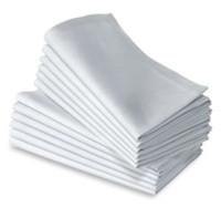 Wholesale polyester plain white napkin cm cm