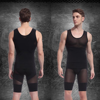 Wholesale tight for body online - Men Body Shaper Vest Shapewear Corset  Slimming Shirt Tight Girdle 8a32b66a7