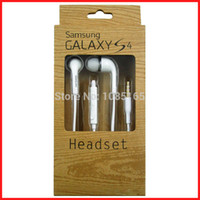 Wholesale Original Earphone S3 - Wholesale-Original OEM Samsung Stereo Earphones Headset headphone for Galaxy S5 S4 S3 with package box-wholesales
