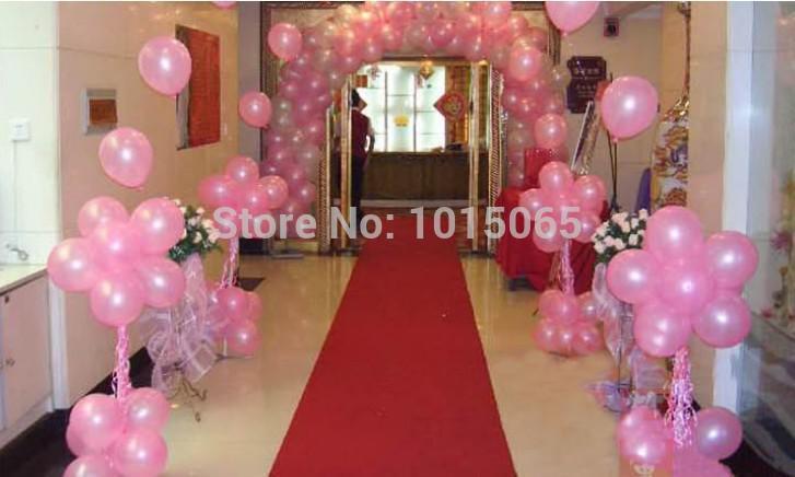 Toptan-BL0203 500 adet / grup için 10 inç inci balonlar Parti Dekorasyon Doğum Günü Balonlar Lateks arch dekorasyon globos ballons klasik