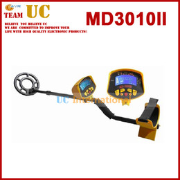 Wholesale High Sensitivity Gold Metal Detector - Wholesale-MD-3010II Metal Detector of the Underground Gold Metal Detector High Sensitivity Metal Detectr Gold Free Shipping MD3010II