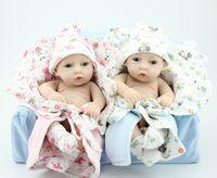 vinil bebek kız bebekleri toptan satış-Toptan-Yeni bebek silikon s / Moda yeniden doğmuş bebekler bebekler gerçekçi 12