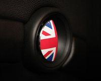 Wholesale Uk Flag Sticker - Wholesale-MINI door handle sticker UK flag Union Jack sticker Mini cooper clubman countryman inner handle enhanced cover sticker 2pcs lot