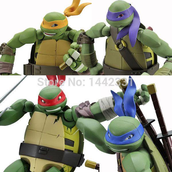 Revoltech TMNT Teenage Mutant Ninja Turtles Model Action Figure Toy RAPHAEL