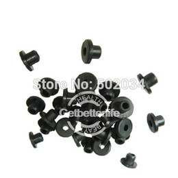 Wholesale Nipple Rubber Bands - Wholesale-Tattoo Supplies -100 Black Rubber Nipple Grommet Bands for Tattoo Supply WS-B21 Free shipping