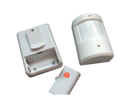 Колокольчики онлайн-Wholesale-New Doorbell Wireless Home Door Window Motion Detector Burglar Entry Security Door Bell Alarm Chime Remote Detective System